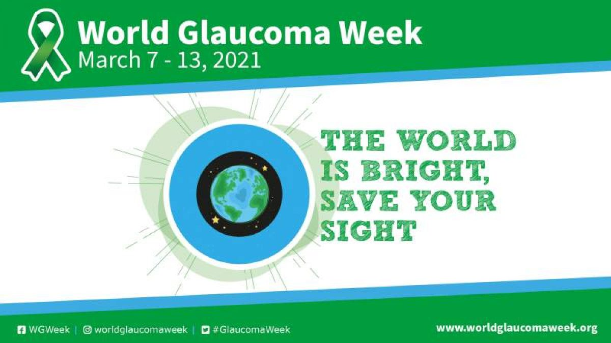 logo Settimana mondiale del Glaucoma
