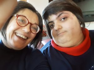 Maria Tania con Chiara